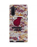 Miami Heat Digi Camo Galaxy Note 10 Pro Case