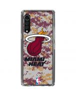 Miami Heat Digi Camo LG Velvet Clear Case