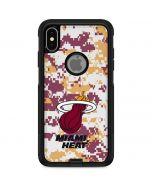 Miami Heat Digi Camo Otterbox Commuter iPhone Skin