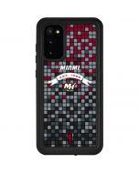 Miami Heat Digi Galaxy S20 Waterproof Case