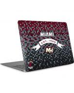 Miami Heat Digi Apple MacBook Air Skin