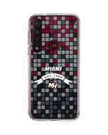 Miami Heat Digi Moto G8 Plus Clear Case