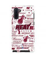 Miami Heat Historic Blast Galaxy Note 10 Pro Case