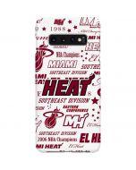 Miami Heat Historic Blast Galaxy S10 Plus Lite Case
