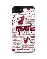 Miami Heat Historic Blast iPhone SE Wallet Case