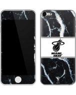 Miami Heat Marble Apple iPod Skin