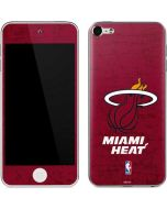 Miami Heat Red Primary Logo Apple iPod Skin
