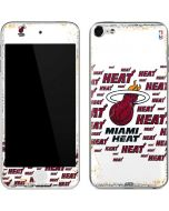 Miami Heat White Blast Apple iPod Skin