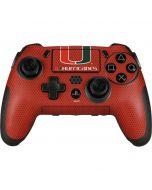 Miami Hurricanes Jersey PlayStation Scuf Vantage 2 Controller Skin
