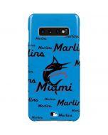 Miami Marlins Blast Galaxy S10 Plus Lite Case