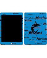 Miami Marlins Blast Apple iPad Skin