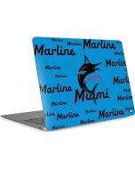 Miami Marlins Blast Apple MacBook Air Skin