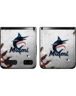 Miami Marlins Game Ball Galaxy Z Flip Skin