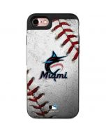 Miami Marlins Game Ball iPhone 7 Wallet Case