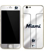 Miami Marlins Home Jersey iPhone 6/6s Skin
