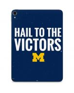 Michigan Hail to the Victors Apple iPad Pro Skin