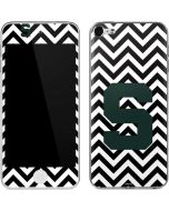 Michigan State University Spartans S Chevron Apple iPod Skin