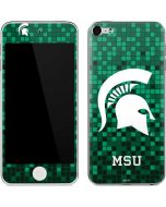 Michigan State Spartans Digital Pixels Apple iPod Skin