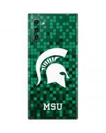 Michigan State Spartans Digital Pixels Galaxy Note 10 Skin