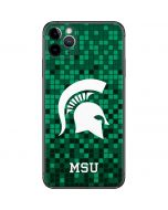 Michigan State Spartans Digital Pixels iPhone 11 Pro Max Skin