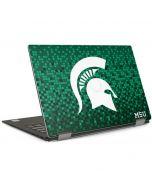 Michigan State Spartans Digital Pixels Dell XPS Skin
