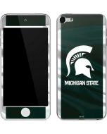 Michigan State University Away Grey Jersey Apple iPod Skin
