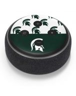 Michigan State University Spartans MSU Split Amazon Echo Dot Skin