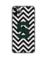 Michigan State University Spartans S Chevron iPhone 11 Pro Max Skin