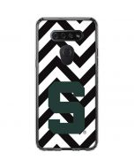 Michigan State University Spartans S Chevron LG K51/Q51 Clear Case