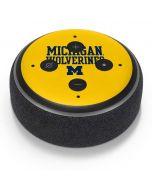 Michigan Wolverines Amazon Echo Dot Skin