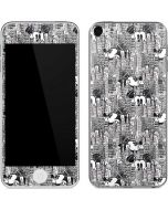 Mickey Mouse Cityscape Sketch Apple iPod Skin