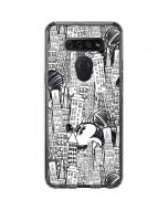 Mickey Mouse Cityscape Sketch LG K51/Q51 Clear Case