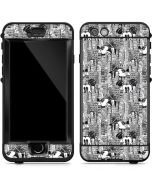 Mickey Mouse Cityscape Sketch LifeProof Nuud iPhone Skin