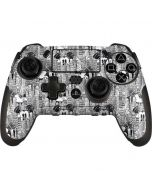 Mickey Mouse Cityscape Sketch PlayStation Scuf Vantage 2 Controller Skin