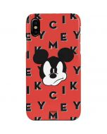 Mickey Mouse Grumpy iPhone XS Max Lite Case