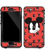 Mickey Mouse Grumpy LifeProof Nuud iPhone Skin