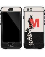 Mickey Mouse Silhouette Split LifeProof Nuud iPhone Skin