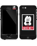 Mickey Mouse Who Me LifeProof Nuud iPhone Skin