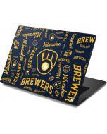 Milwaukee Brewers - Cap Logo Blast Dell Chromebook Skin