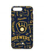 Milwaukee Brewers - Cap Logo Blast iPhone 7 Plus Pro Case