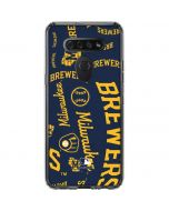 Milwaukee Brewers - Cap Logo Blast LG K51/Q51 Clear Case