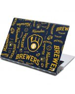 Milwaukee Brewers - Cap Logo Blast Yoga 910 2-in-1 14in Touch-Screen Skin