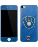 Milwaukee Brewers - Cooperstown Distressed Apple iPod Skin