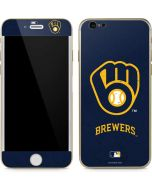 Milwaukee Brewers - Solid Distressed iPhone 6/6s Skin