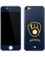 Milwaukee Brewers - Solid Distressed Apple iPod Skin