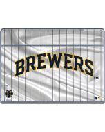 Milwaukee Brewers Alternate/Away Jersey Galaxy Book Keyboard Folio 12in Skin