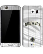 Milwaukee Brewers Alternate/Away Jersey Galaxy S6 Edge Skin