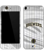 Milwaukee Brewers Alternate/Away Jersey Apple iPod Skin