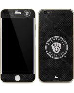Milwaukee Brewers Dark Wash iPhone 6/6s Skin
