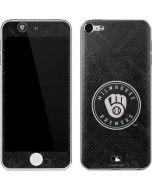 Milwaukee Brewers Dark Wash Apple iPod Skin